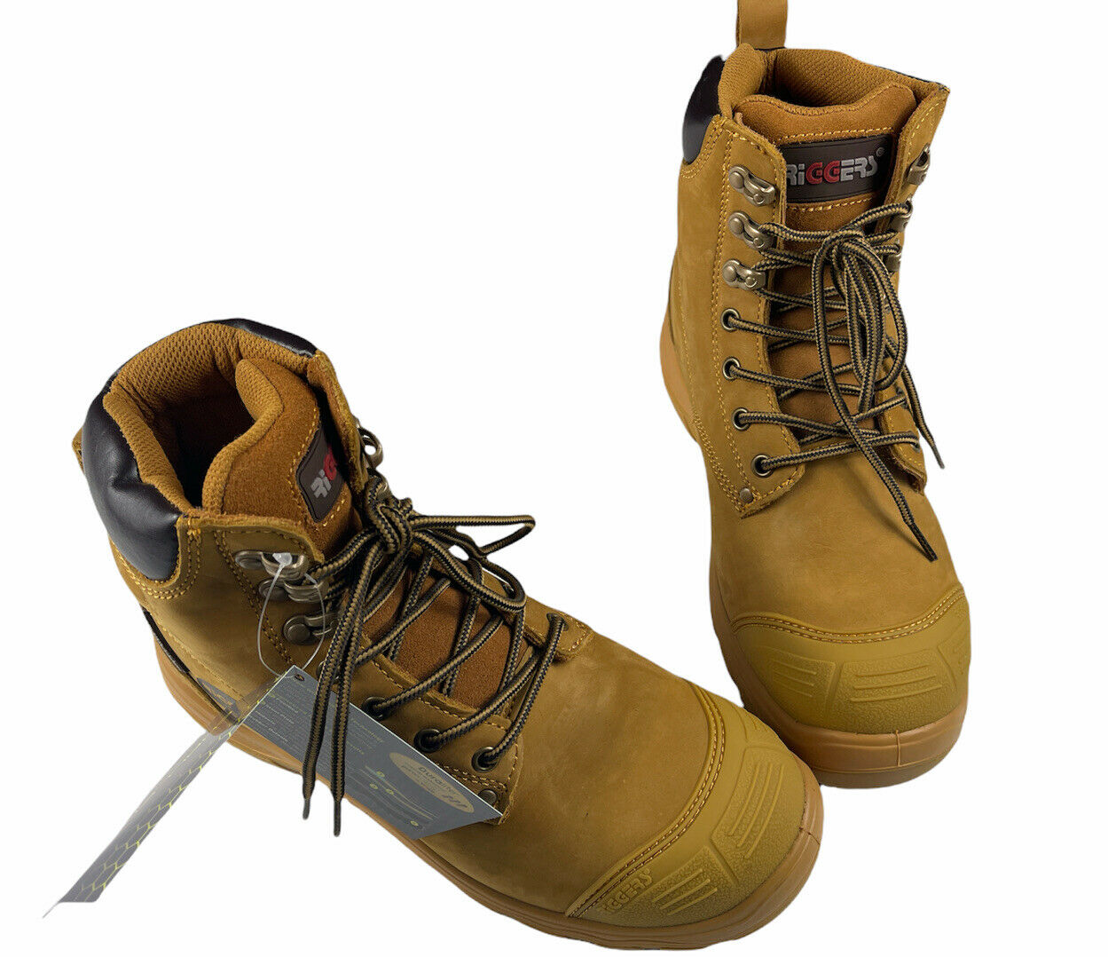 Challenger Riggers Work Boots Size AU8 New With Tags. Free postage