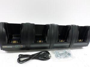 OEM-Psion-Teklogix-Itech-HU4004-Quad-Base-de-Carga-Ptx-W-Cables-1080215-Nuevo