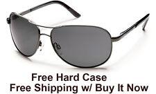 0eefad9de8c0 item 4 Suncloud Aviator Sunglasses - Gunmetal Frame w Grey Polarized + Free  Hard Case -Suncloud Aviator Sunglasses - Gunmetal Frame w Grey Polarized +  Free ...