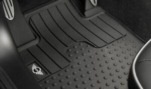 Original MINI Cooper Todo Tipo de Tiempo Alfombrillas Delant. R55 R56 R57 R58