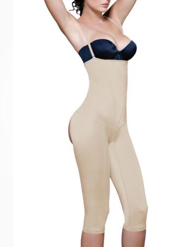 CAMEL FREE SHIPPING Strapless Full Body w// Buttock Enhancer VEDETTE 142