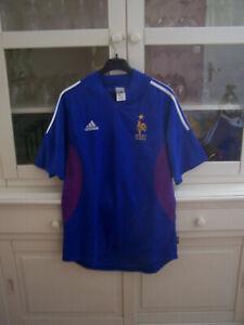 maillot de football vintage , équipe de france taille L , neuf .