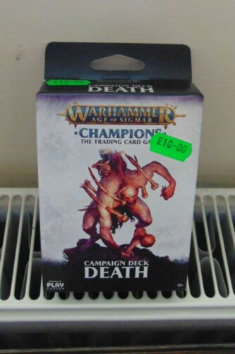 Warhammer Age of Sigmar Champions Trading Card Game Campaign Deck Death