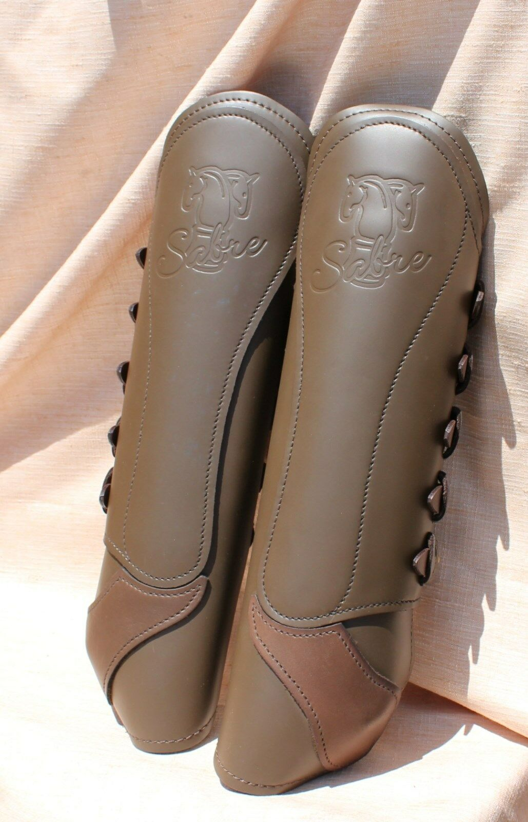 12-36 New Sabre hind eventing boots biothane straps made  in England was 165  free shipping worldwide