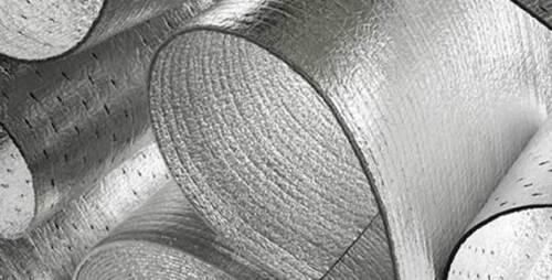 "500sqft NASATEK Reflective Foam Core 1//4/"" Insulation Vapor Barrier 4x125NP Solid"