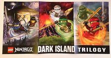 NYCC 2016 Handout LEGO NinjaGo Dark Island Trilogy 2 Sided Poster -Free Shipping