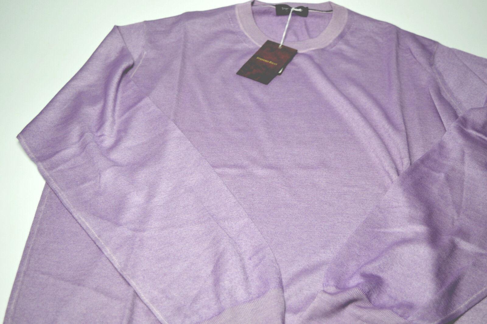 NEW   1740,00 STEFANO RICCI  Sweater  RICCI Cashmere  Size 2XL Us 56 Eu (COD AF18) 89758e