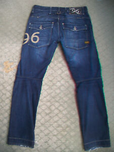 MENS-G-STAR-96-ELWOOD-HERITAGE-TAPERED-JEANS-SIZE-31