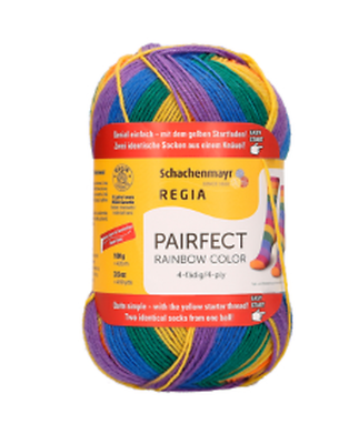 REGIA 4-fädig  color 100g Sockenwolle Farbe 03726 exotic