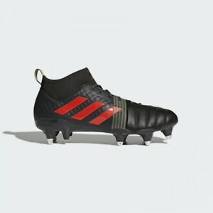 adidas-Kakari-X-Kevlar-Soft-Ground-Size-9-5-Black-RRP-160-Brand-New-CM7438