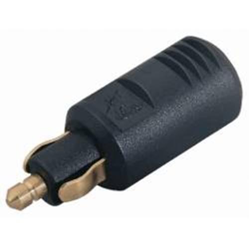 Normstecker für DIN Bordsteckdosen Zugentlastung 8A 12V D37 24V