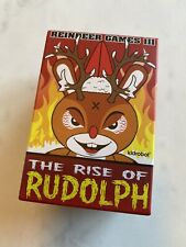 "KidRobot Frank Kozik RISE OF RUDOLPH Holiday 2017 3/"" Dunny NEW SEALED RARE W@W!"