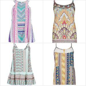 FA-M-Ou-S-High-St-Tienda-Para-Mujer-Impreso-Camisola-Chaleco-Top-Talla-8-22-RRP-25-35