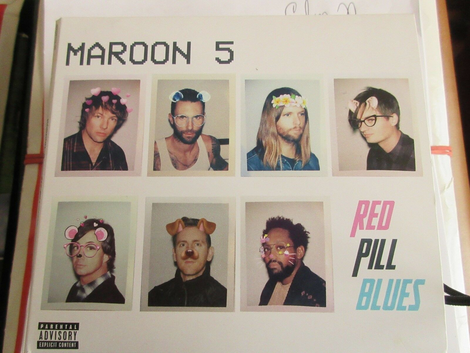 Maroon 5 , Red Pill Blues , CD 602567068082