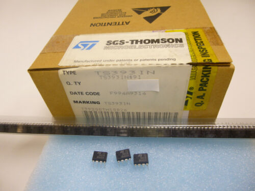 125°C TLC393 7 Stück//7 pieces TS393 IN  MICROPOWER DUAL CMOS COMPARATOR 40 to