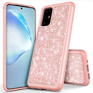 For Samsung Galaxy S20 S20 S20 Ultra 5g Case Bling Hybrid Soft Tpu Phone Cover Ebay