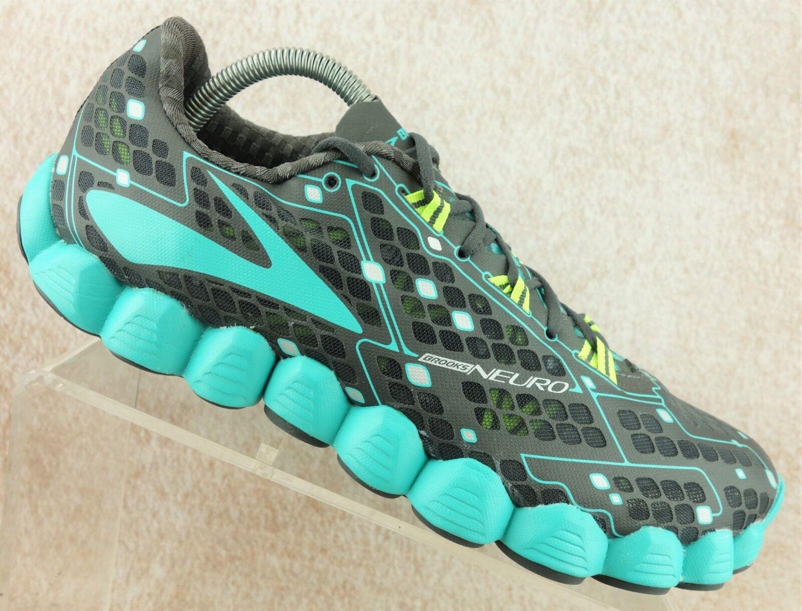 Brooks neuro gris verde Atlético de de Atlético malla que ejecuta para mujeres zapatos talla 11 B 07a060