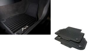 Audi-A4-2016-All-Weather-Front-amp-Rear-Rubber-Mats-Set-GENUINE-SALE