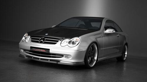 03-06 Schwert carbon Spoilerlippe Frontspoiler Spoiler Mercedes CLK W209 Bj