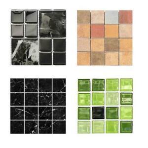 10PCS-DIY-Mosaik-3D-Selbstklebende-Wandfliesen-Aufkleber-Badezimmer-R8G8-W-J7V0