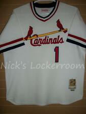 AUTHENTIC Mitchell & Ness 82 St Louis Cardinals Ozzie Smith Throwback Jersey 52
