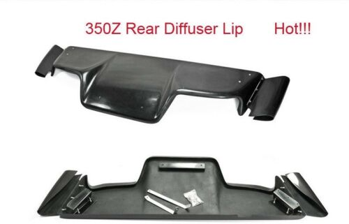 FRP Rear Under Diffuser Panel For 03-08 Z33 350z Infiniti G35 Coupe 2Dr JDM TS