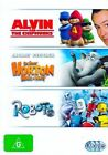 Alvin and The Chipmunks Horton Hears a Who 2008 Robots DVD 2cf2