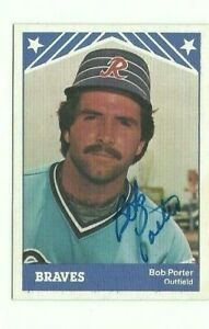 Bob-Porter-1983-TCMA-Richmond-Braves-autographed-auto-signed-card