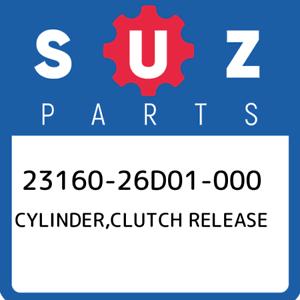 23160-26D01-000-Suzuki-Cylinder-clutch-release-2316026D01000-New-Genuine-OEM-Pa