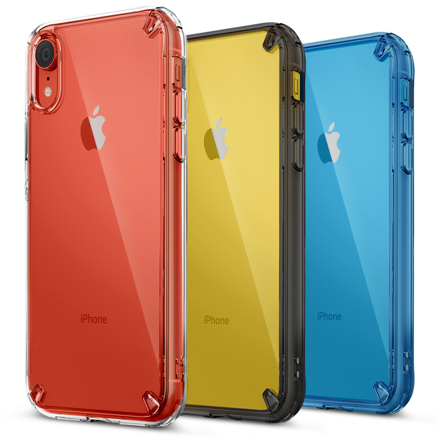 iphone x xs max xr fusion clear case