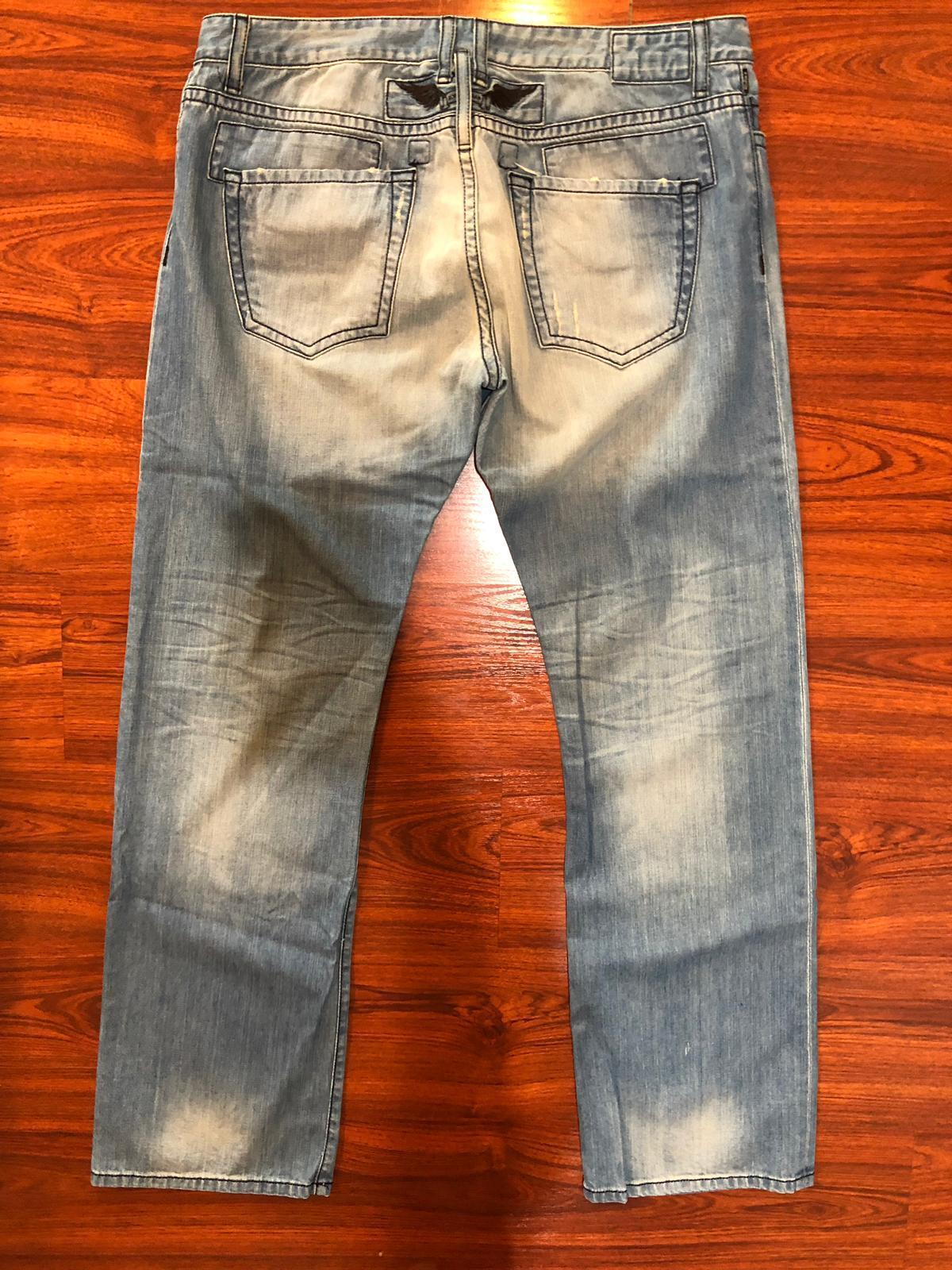 NEW Authentic Robin's Jeans Mens 42 5696 Stonewash Distressed Classic Robin
