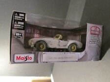 "NEW-MAISTO 19654 SHELBY COBRA 427 DIECAST COLLECTION ""OLD FRIENDS"" 1;24 SCALE"