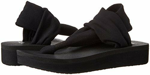 Sanuk Women/'s Yoga Sling Wedge Sandal