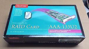Adaptec-Ultra-2-SCSI-RAID-Card-AAA-133U2-KIT-3-Channel-PCI