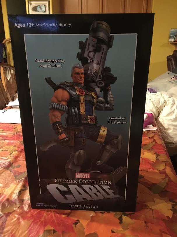 DIAMOND SELECT TOYS CABLE STATUE MARVEL PREMIERE LIMITED EDITION 3000 NEW