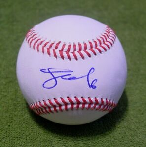 JONATHAN INDIA Signed/Autographed BASEBALL Florida Gators, CINCINNATI REDS w/COA