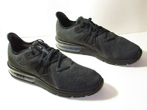 235f93d914e Men s Nike Air Max Sequent 3 Running Shoe Black Anthracite 921694 ...