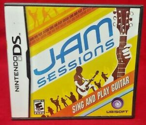 Jam-Sessions-Nintendo-DS-Lite-3DS-2DS-Game-Complete-Works-Tested
