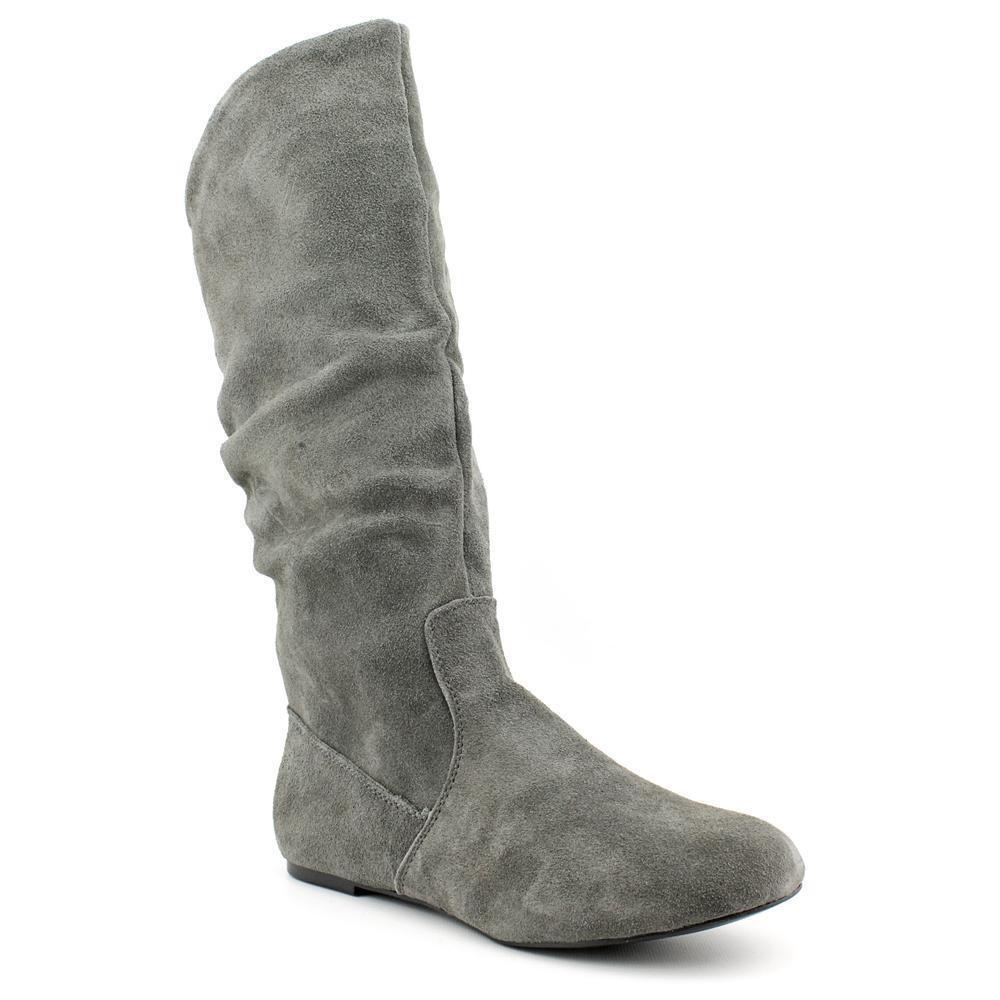 NWOB Style & Co Kasee Women Gray Knee High Boot sz 5
