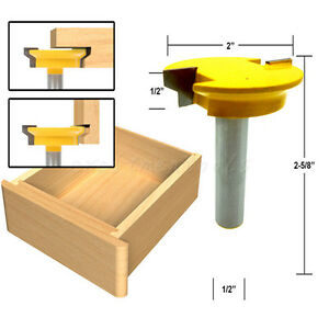 drawer lockheader router drawers lock miter bit toolmonger