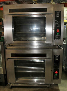 2007-Hardt-Inferno-3000-Gas-Rotisserie-Oven-double-stack