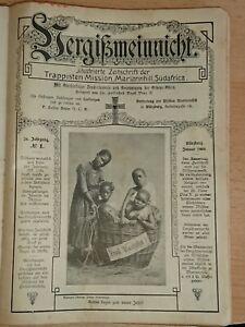 Vergissmeinnicht-1908-Zeitschrift-der-Trappisten-Mission-Mariannhill-Suedafrika