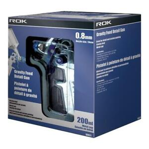 New - GRAVITY FEED DETAIL PAINT SPRAY GUN -- Easy to Paint Smoothly and Quickly! Ontario Preview