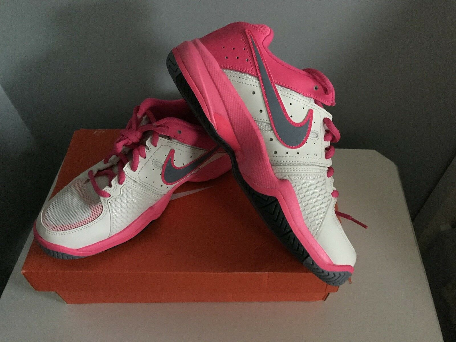 NIKE Womens Air Pink/White/Gray Comfortable