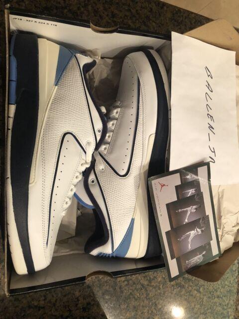 wholesale dealer d0442 018e9 New Air Jordan 2 II Retro Low (309837 141) Midnight Navy University Blue  Size