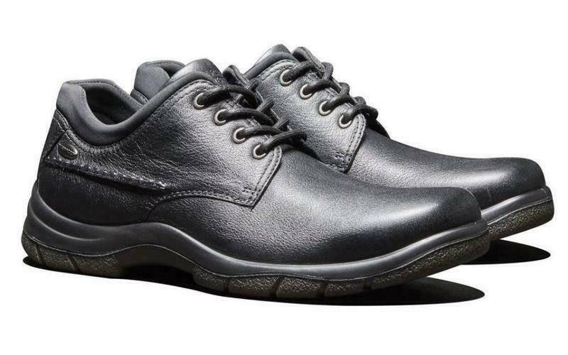 Hush Puppies Resolve Hombre Casual Comfort Encaje Zapato (impermeable, M, Ancho, XWIDE)
