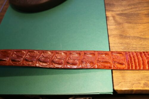 men's  crocodile belt  34