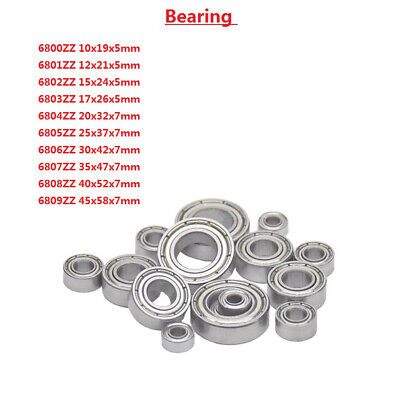 Micro Deep Groove Ball Bearing 6800 6801 6802 6803 6804 6805 6806 6807-6809ZZ