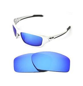 f62bb8b3a138c9 Neuf Polarisé Personnalisé Bleu Glace Verre pour Oakley Valve ...