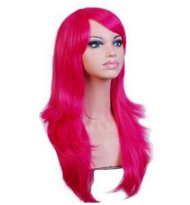 Long Wavy Cosplay Wig 70cm Synthetic Hair Wigs Heat ...
